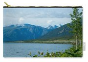 View One Kluane Lake From Cottonwood Campground Near Destruction Bay-yk   Carry-all Pouch