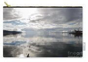 View Over The Ushuaia Bay In Tierra Del Fuego Carry-all Pouch