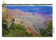 View Seven From Walhalla Overlook On North Rim Of Grand Canyon-arizona Carry-all Pouch