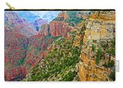 View Six From Walhalla Overlook On North Rim Of Grand Canyon-arizona Carry-all Pouch