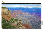 View Three From Walhalla Overlook On North Rim Of Grand Canyon-arizona  Carry-all Pouch