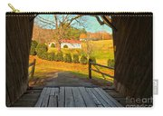 View Through The Meems Bottom Covered Bridge Carry-all Pouch