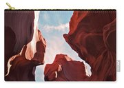 View To The Heavens From Antelope Canyon In Arizona Carry-all Pouch