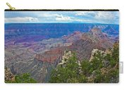 View Two From Walhalla Overlook On North Rim Of Grand Canyon-arizona Carry-all Pouch