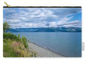 View Two Kluane Lake From Cottonwood Campground Near Destruction Bay-yk Carry-all Pouch