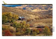 Viewing The Old Barn Carry-all Pouch by Robert Bales
