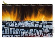 Views From The Fireplace Carry-all Pouch