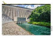 Views Of Man Made Dam At Lake Fontana Great Smoky Mountains Nc Carry-all Pouch