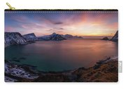Vikbukta Bay With Vik And Haukland Carry-all Pouch