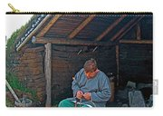 Viking Fisherman At L'anse Aux Meadows-nl  Carry-all Pouch