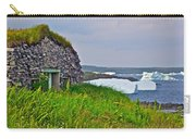 Viking House On Fishing  Point In Saint Anthony-nl Carry-all Pouch