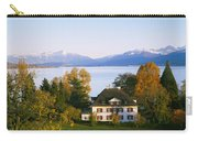 Villa At The Waterfront, Lake Zurich Carry-all Pouch