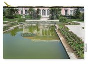 Villa Ephrussi De Rothschild With Reflection Carry-all Pouch