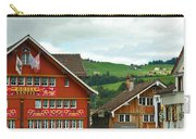 Hotel Santis And Hillside Of Appenzell Switzerland Carry-all Pouch