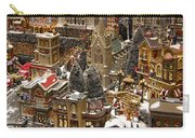 Village Christmas Scene Carry-all Pouch