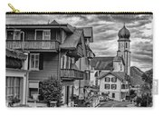Village Image B/w Carry-all Pouch