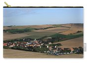 Village In A French Landscape  Carry-all Pouch