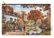Village In Autumn Carry-all Pouch