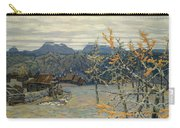 Village In The Ural Mountains Carry-all Pouch