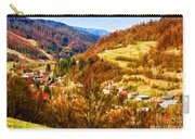 Village In The Valley Carry-all Pouch