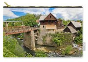 Village Of Rastoke River Canyon Carry-all Pouch