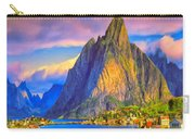 Village On The Naeroyfjord Norway Carry-all Pouch