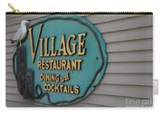 Village Restaurant Carry-all Pouch