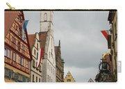 Village Scene Rothenburg Ob Der Tauber Carry-all Pouch