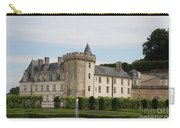 Villandry Chateau And Boxwood Garden Carry-all Pouch