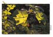 Vine Leaves At Sunset Carry-all Pouch