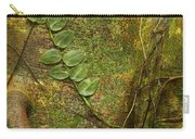 Vine On Tree Bark Carry-all Pouch