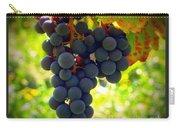Vine Purple Grapes  Carry-all Pouch