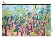 Vineyard In The Afternoon Sun Carry-all Pouch
