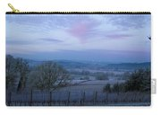 Vineyard Morning Light Carry-all Pouch by Jean Noren