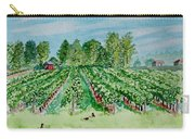 Vineyard Of Ontario Canada 1 Carry-all Pouch