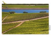 Vineyard On A Lake Carry-all Pouch