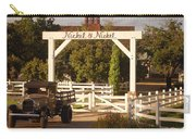 Vineyard Trucking Carry-all Pouch by Holly Blunkall