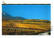 Vineyards In Autumn, Valais Canton Carry-all Pouch