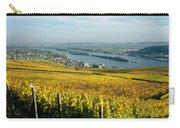 Vineyards Near A Town, Rudesheim Carry-all Pouch