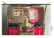 Vintage 10 Cent Slot Machine Carry-all Pouch
