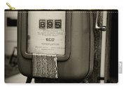 Vintage Air Station In Black And White Carry-all Pouch