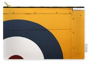 Vintage Airplane Abstract Design Carry-all Pouch