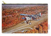 Vintage Airplane Postcard Art Prints Carry-all Pouch