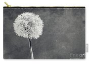 Vintage Allium Flower Carry-all Pouch