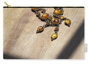 Vintage Amber Necklace Carry-all Pouch