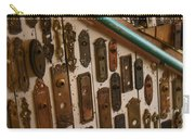 Vintage And Antique Door Knob And Lock Plates Carry-all Pouch