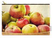Vintage Apple Basket Carry-all Pouch