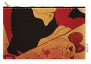 Vintage Art Poster Advertisement Entertainment Toulouse Lautrec 1892 Carry-all Pouch