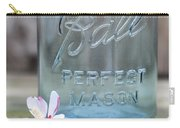 Vintage Ball Perfect Mason Blue Carry-all Pouch