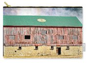 Vintage Barn - Wood And Stone Carry-all Pouch